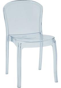 Cadeira Transparente Sem Braços Tramontina