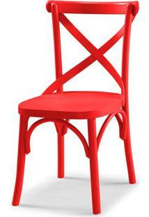 Cadeira X Cor Vermelho - 31325 - Sun House