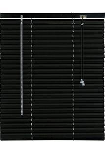 Persiana Alumínio 25Mm Isadora Design 1,60Mx1,40M Preto