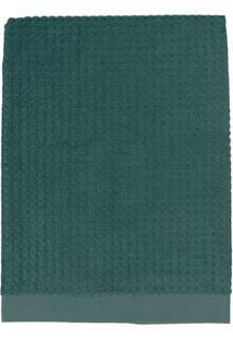 Toalha De Rosto Solare- Verde Escuro- 45X80Cm- Tteka