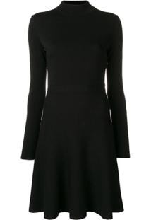 Givenchy Vestido Evasê Curto - Preto
