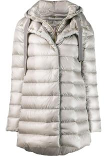 Herno Quilted Puffer Jacket - Cinza