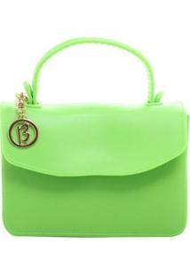 Bolsa Birô Pequena Maleta Feminina - Feminino-Verde