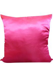 Capa Para Almofada Cetim Liso 45X45 - Perfil Matelados - Pink