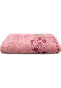 Toalha De Banho Karsten Magda Lady Pink 70 X 140