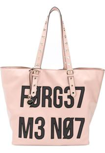 Red Valentino Bolsa Tote Forget Get Me Not - Rosa