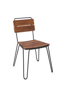 Cadeira De Madeira Tramontina 14521051 Tarsila Teca Marrom