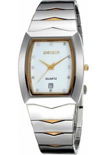 a88d302af4d ... Relógio Weiqin Analógico W0045Bg - Feminino-Branco