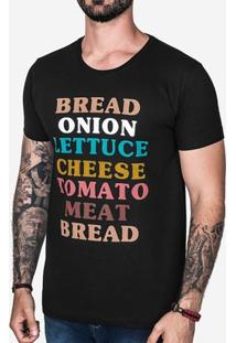 Camiseta Hermoso Compadre Burguer Masculina - Masculino
