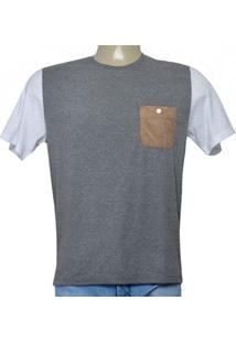 Camiseta Masc Cavalera Clothing 01.01.9701 Mescla