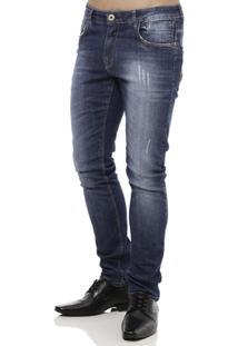 Calça Jeans Masculina Azul - Masculino