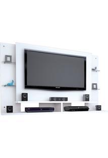 Painel Caemmun Para Tv De Até 55 Polegadas Domínio Branco - Kanui