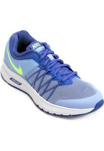 Tênis Nike Air Relentless 6 Msl Feminino Feminino Azulverde