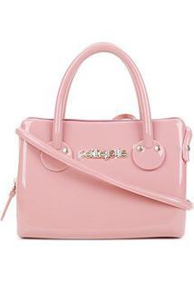 Bolsa Petite Jolie J-Lastic Mini Bag Feminina - Feminino-Rosa