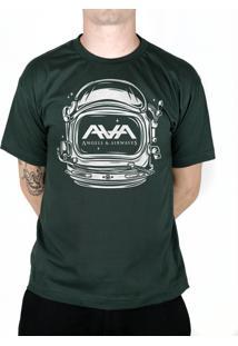 Camiseta 182Life Space Head Musgo