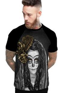 Camiseta Stompy Raglan Modelo 109 Masculina - Masculino