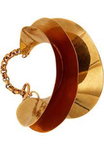 Jw Anderson Bracelete Concha - Dourado