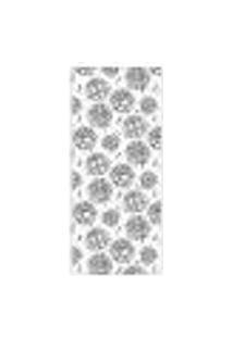 Adesivo Decorativo De Porta - Rosas - Flores - 801Cnpt Auto Colante