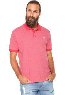 Camisa Polo Mr Kitsch Maga Curta Mouline Rosa