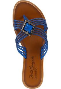 Chinelo Feminino Grendha Is Natural Azul
