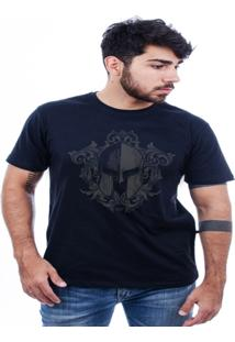Camiseta Hardivision Elmo Corrosão Manga Curta - Masculino
