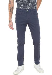 Calça Sarja Jack & Jones Slim Lisa Azul