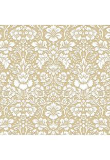 Papel De Parede Renda Dourado (950X52)