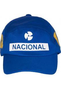 Boné Fórmula Retrô Banco Nacional Azul