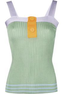 Sjyp Blusa De Tricô - Verde