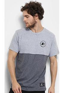 Camiseta Starter Bicolor Black Label Masculina - Masculino