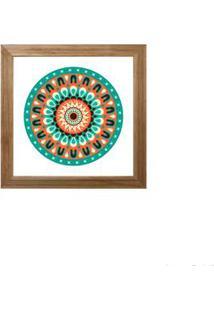 Quadro Decorativo Lucky Iii 23X23Cm Rústico Infinity
