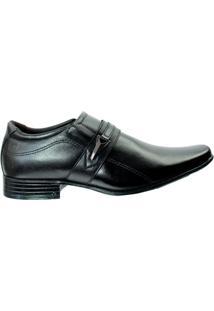 Sapato Social Pegada Anilina - Masculino-Preto