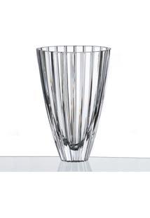 Vaso Cristal Decorativo 30,5 Cm Bohemia
