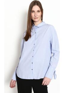 Camisa Listrada- Azul Claro & Brancagregory