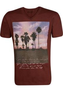 Camiseta Gang Gola V Summer Marrom