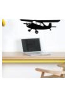 Adesivo De Parede Avião Teco Teco - Eg 48X134Cm