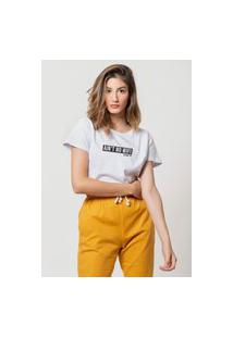 Camiseta Jay Jay Basica No Wifi Branca Dtg