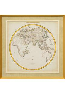 Quadro Decorativo Maps Ii
