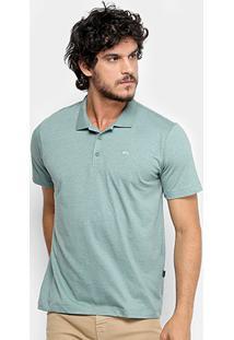 Camisa Polo Quiksilver Heather Masculina - Masculino