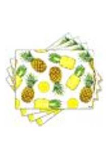 Jogo Americano - Abacaxi Com 4 Peças - 943Jo