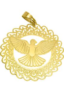 Pingente Espirito Santo Tudo Jóias Folheado Dourado