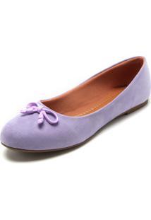 Sapatilha Dafiti Shoes Laço Lilás