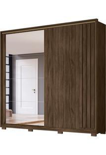 Guarda-Roupa Casal Com Espelho Oron 2 Pt 4 Gv Wengue