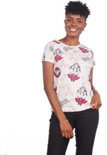 Camiseta Estampa Mulher Maravilha Feminina - Feminino