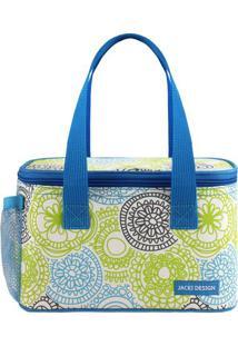 Bolsa Térmica - Azul & Verde - 13X21,5X13Cmjacki Design