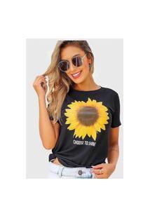 Camiseta Girassol D Bell