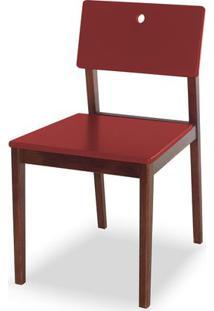 Cadeira Flip Cor Cacau Com Vinho - 30829 Sun House