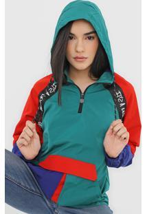 Jaqueta Desigual Gwen Verde/Azul