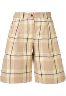 Jejia Checked Shorts - Neutro