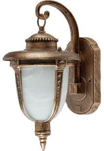 Arandela Colonial AlumãNio Em Ouro Velho - Modelo Toulouse - Ouro Velho - Dafiti